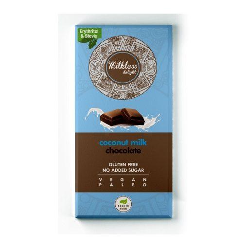 Kókusztejes csokoládé 80g Milkless Delight