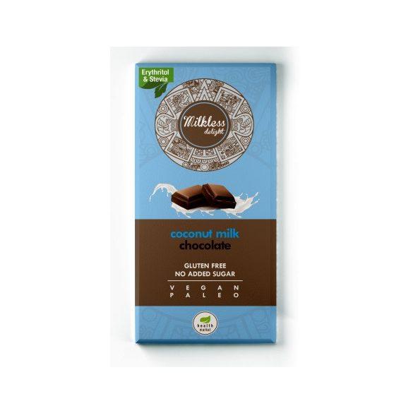 Milkless delight csokoládé 80g EgészségMarket