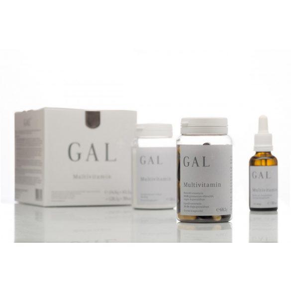 Multivitamin plusz étrend-kiegészítő GAL 24,6g+43,5g+128,1g+30ml