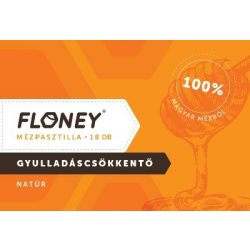 Mézpasztilla natúr (18)  Floney