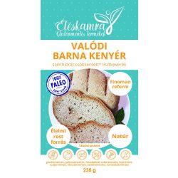 Valódi barna kenyér lisztkeverék 235g Paleolit Éléskamra