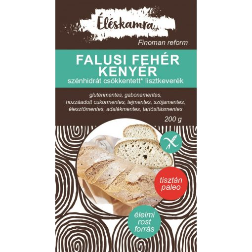 Falusi kenyér lisztkeverék 200g Paleolit Éléskamra