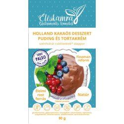 Holland kakaós pudingpor 60g Paleolit Éléskamra