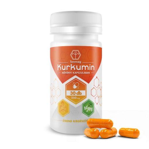 Kurkumin 250mg (30) növényi kapszulában Tenmag