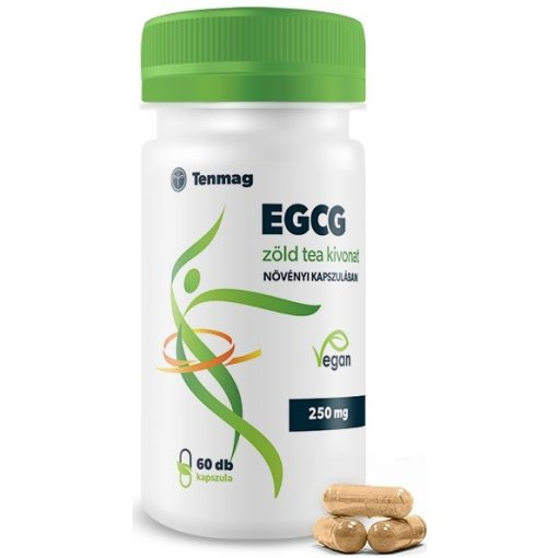 EGCG Forte 350mg Zöld tea kivonat 60 kapszula Tenmag