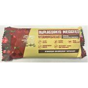 Duplacsokis-meggyes kézműves vitaminszelet 37-42g Falatka