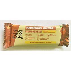 Narancsos zserbó kézműves vitaminszelet 37-42g Falatka