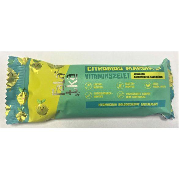 Citromos marcipán kézműves vitaminszelet 37-42g Falatka