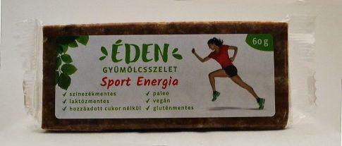 Sport-energia szelet 60g Édenszelet
