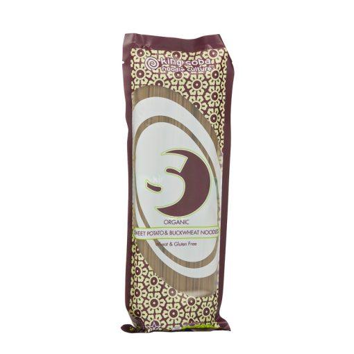 BIO gluténmentes édes burgonya-hajdina tészta 250g king soba