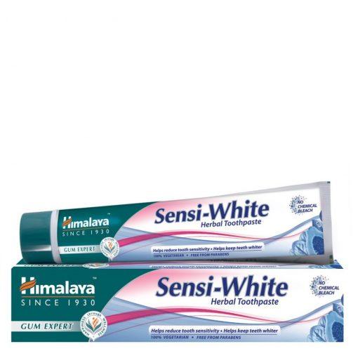 Sensi White fogfehérítő gyógynövényes fogkrém érzékeny fogakra 75ml Himalaya