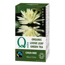 Zöld szálas tea Chun Mee BIO 100g Qi