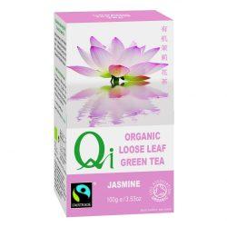 Zöld szálas tea jázminnal BIO 100g Qi