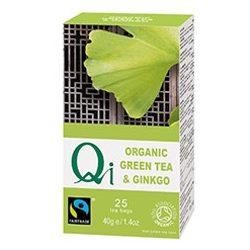 Zöld tea ginkgovall BIO 25x1,6g Qi