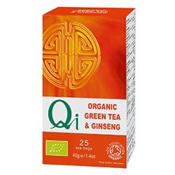 Zöld tea ginzenggel BIO 25x1,6g Qi