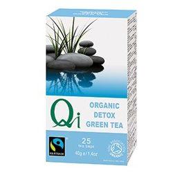 Tisztító zöld tea BIO 25x1,6g Qi
