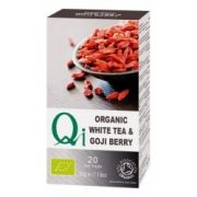 Fehér tea goji bogyóval BIO 32x1,13g Qi