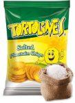 Zöldbanán chips sós 100g Tortolines