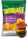 Zöldbanán chips thai 90g Tortolines