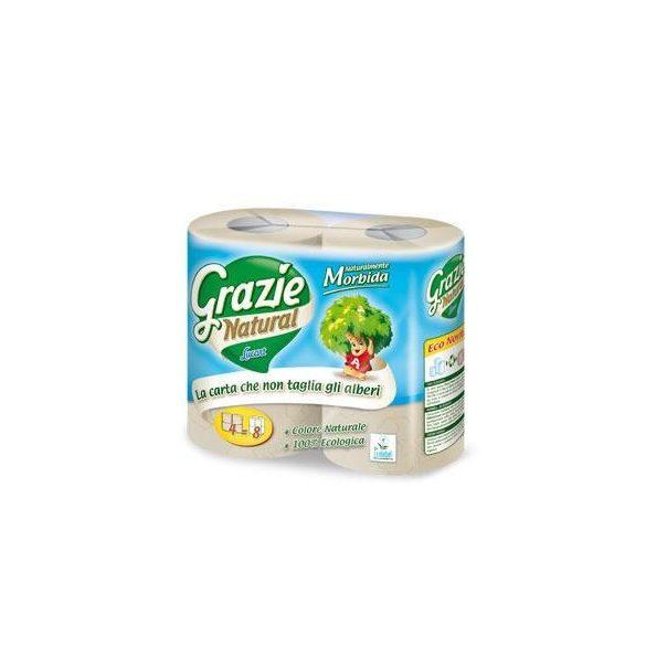 Öko toalettpapír 2 rétegű 4 tekercses Grazie Natural