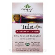 Pomegranate Green filteres tea (18) BIO Tulsi