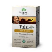 Lemon Ginger filteres tea (18) BIO Tulsi