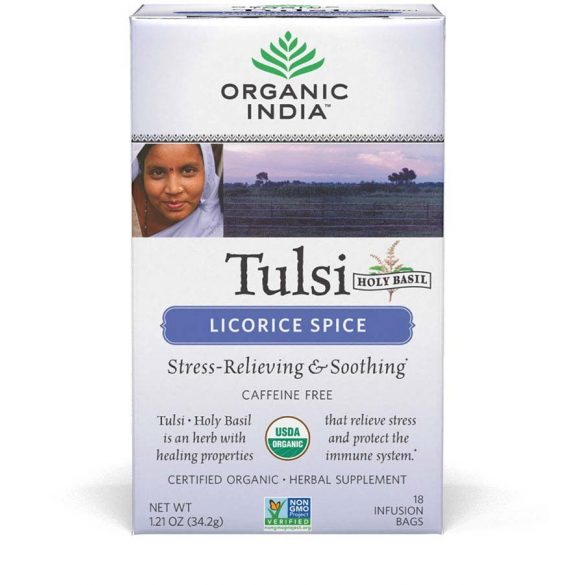 Licorice Spice filteres tea (18) BIO Tulsi