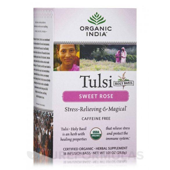 Sweet Rose filteres tea (25) BIO Tulsi