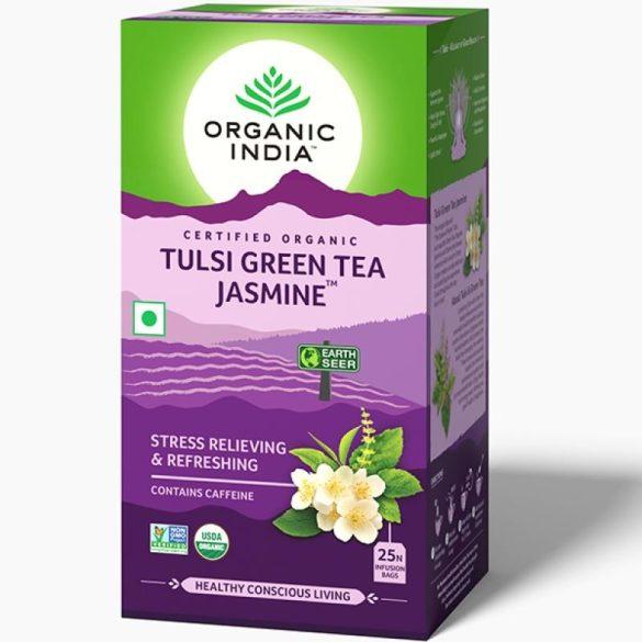 Jasmine Green filteres tea (25) BIO Tulsi