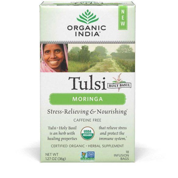 Moringa filteres tea (25) BIO Tulsi
