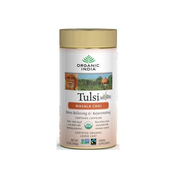 Masala Chai szálas tea 100g BIO Tulsi
