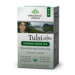 Jasmine Green filteres tea (18) BIO Tulsi
