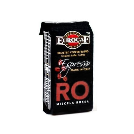 Miscela Rossa őrölt pörkölt kávé 250g EurocaF