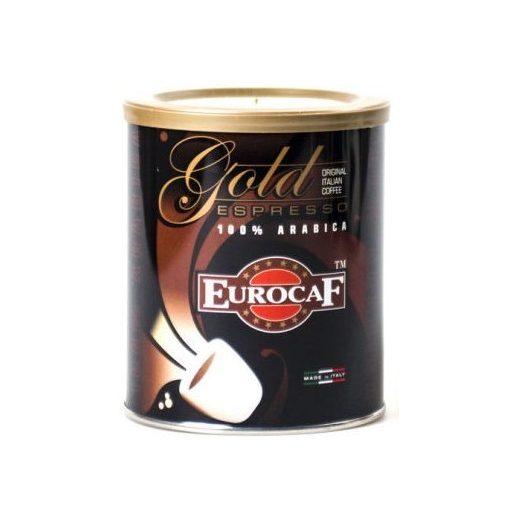 Gold őrölt kávé 250g EurocaF 100% Arabica