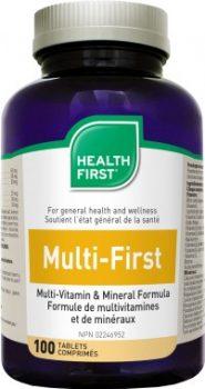 Multi-First multivitamin és ásvány HF