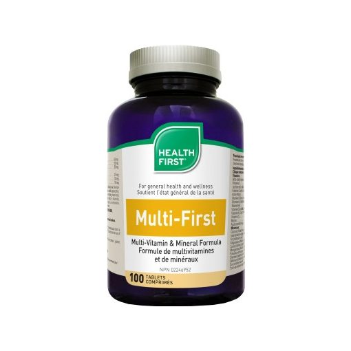 Multi-First multivitamin és ásvány Health First