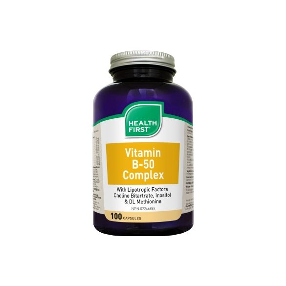 B50 Vitamin Komplex (100) kapszula Health First