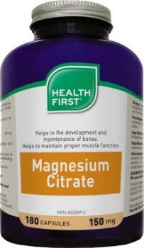 Magnézium Citrát 150mg (180) Health First