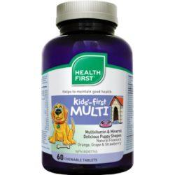 Gyerek multivitamin rágótabletta (60) Health First