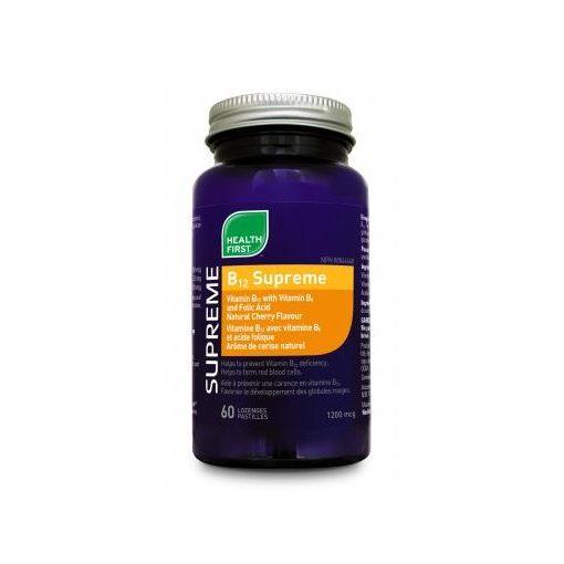 B12 supreme vitalizáló (60) tabletta Health First
