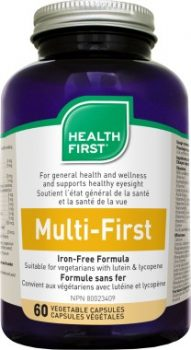 Multi-First vasmentes multivitamin Health First