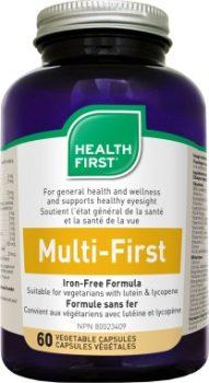 Multi-First vasmentes multivitamin HF