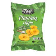 Plantain (főzőbanán) chips tengeri sós 75g SAMAI
