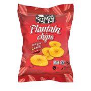 Plantain (főzőbanán) chips csípős chilli 75g SAMAI
