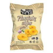 Plantain (főzőbanán) chips fokhagymás 75g SAMAI