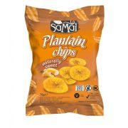 Plantain (főzőbanán) chips natúr édes 75g SAMAI