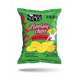 Plantain (főzőbanán) chips édes chilli 75g SAMAI