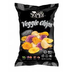 Rainforest nagy zöldség chips tengeri sós 115g SAMAI