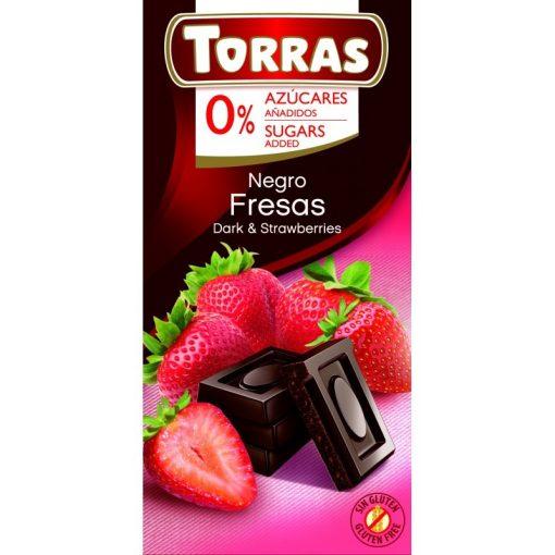 Epres étcsokoládé maltitollal 75g TORRAS