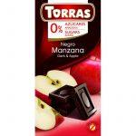 Almás étcsokoládé maltitollal 75g TORRAS